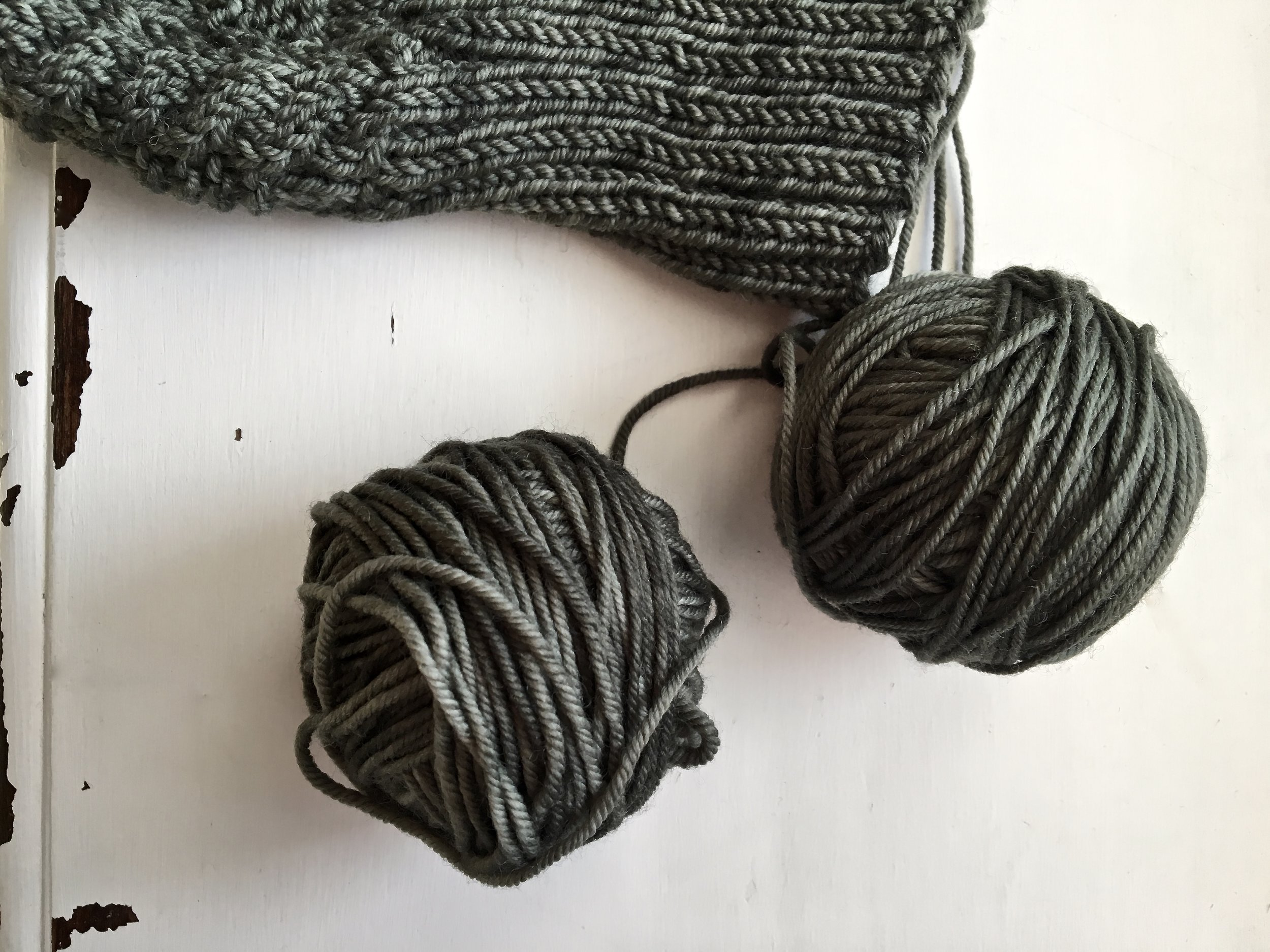 swan's island organic superwash yarn