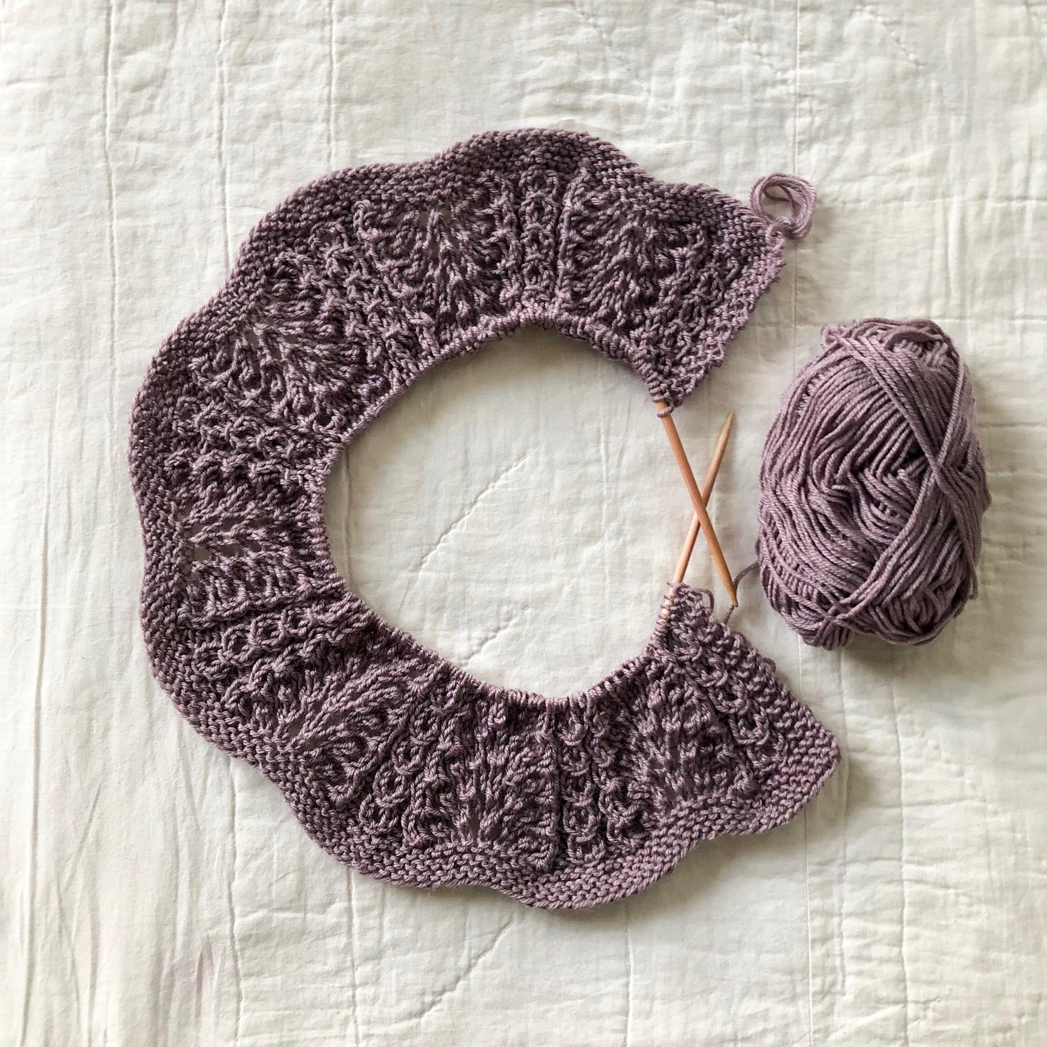 shale baby blanket brooklyn tweed