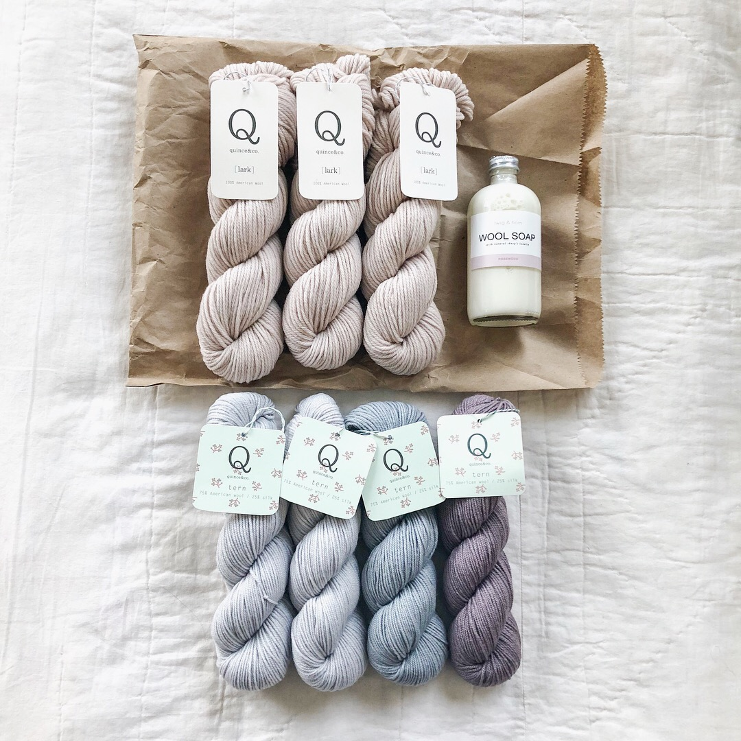 Quince & Co. Yarn Twig & Horn Wool Soap