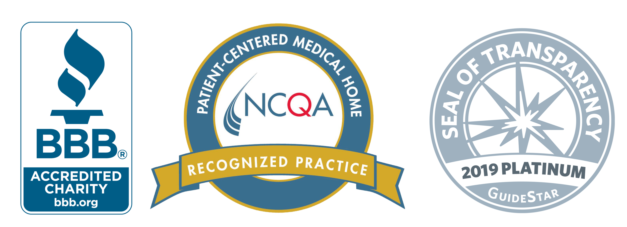GraceMed Certification: BBB, NCQA, Guidestar