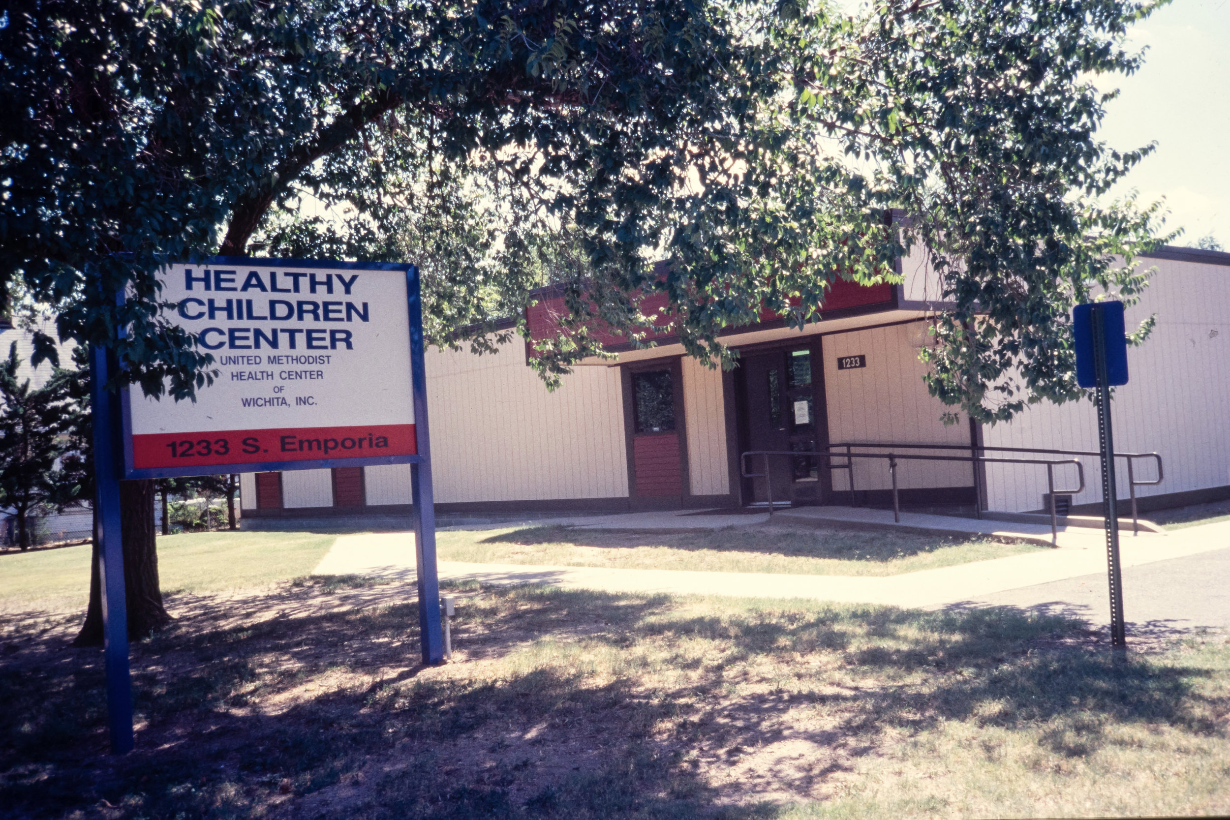 First satellite location of clinic that would later become the Healthy Family Clinic