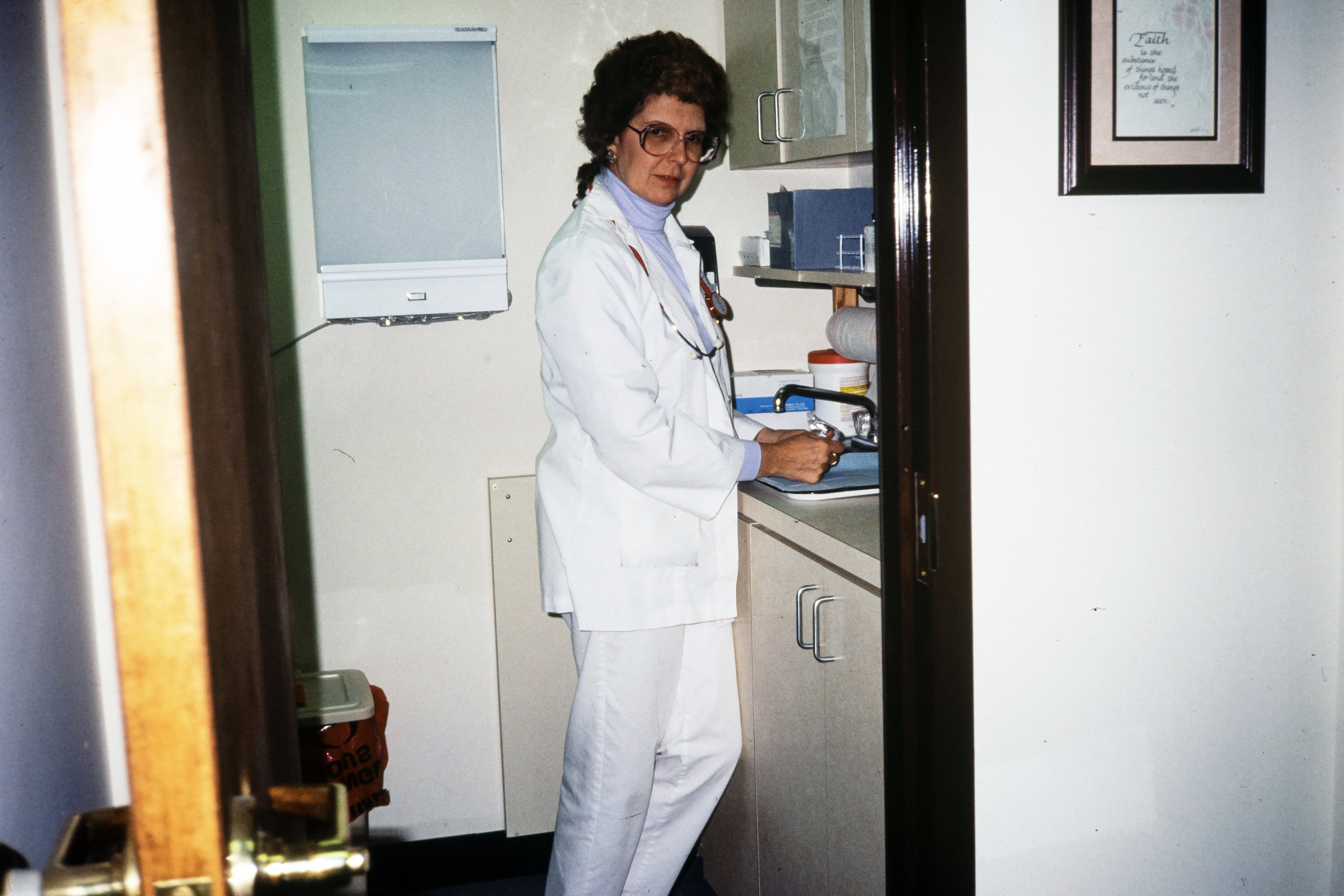 Kerin Smith from her days as a nurse at GraceMed