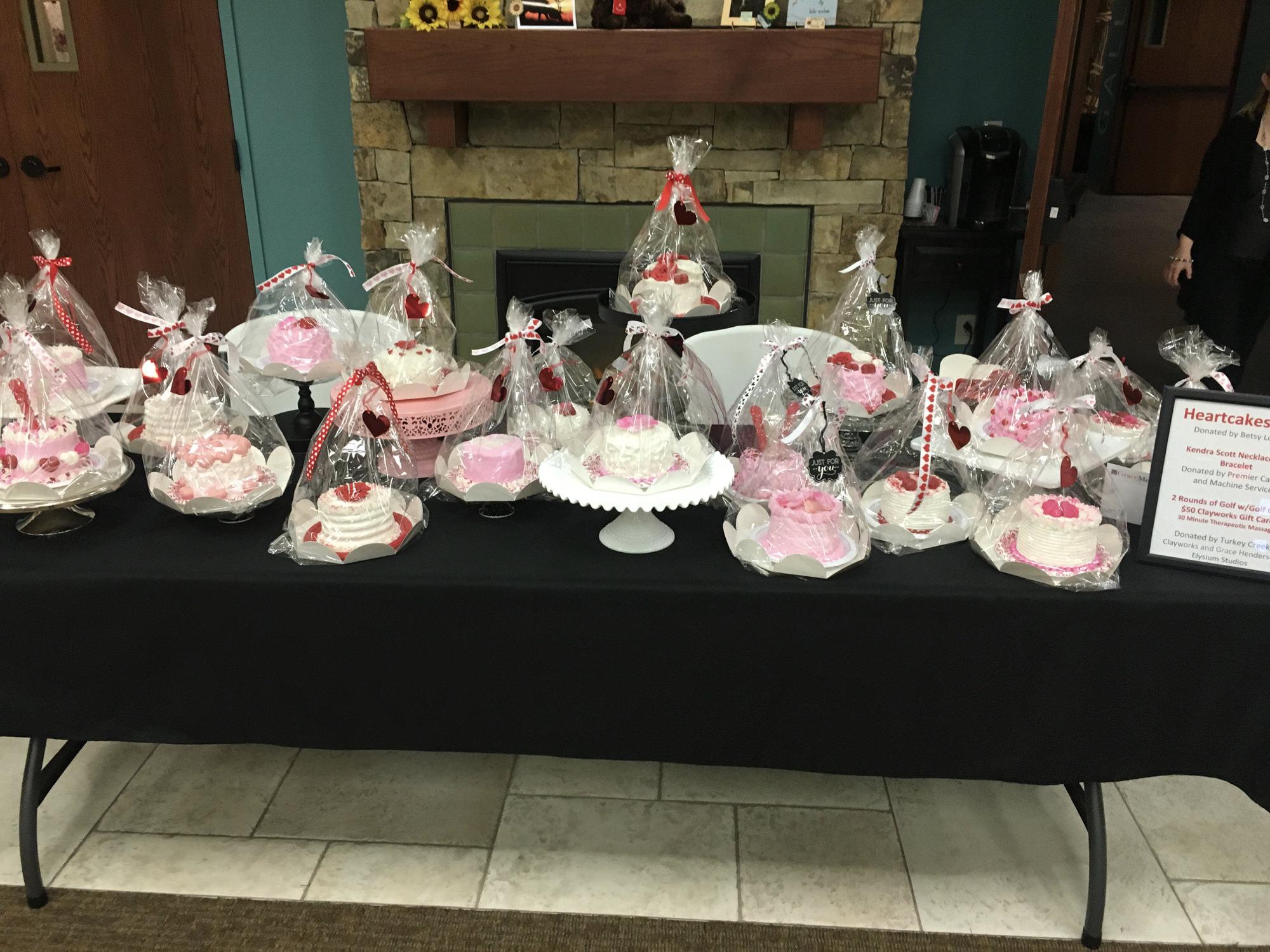 Heartcakes from Betsy Lapota