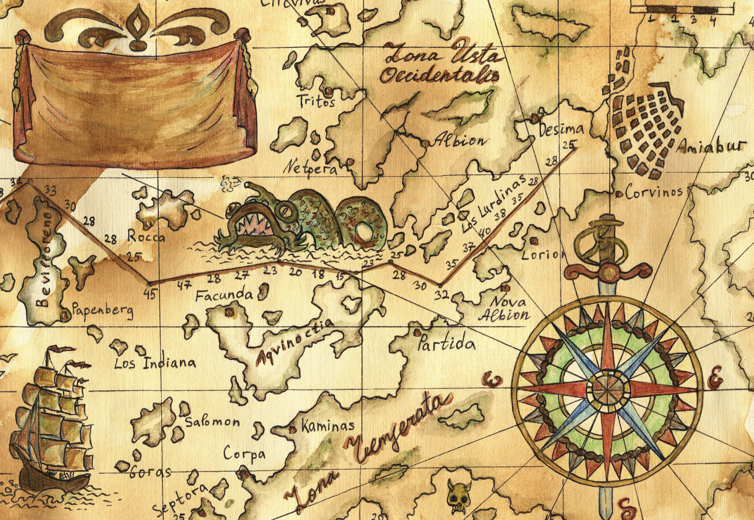 "Ancient maps depicted parts of the planet that were as yet unexplored with drawings of monsters. - The phrase ""Here be dragons"" is still used today to describe the limits of our knowledge and the fear that too often fills the gap."