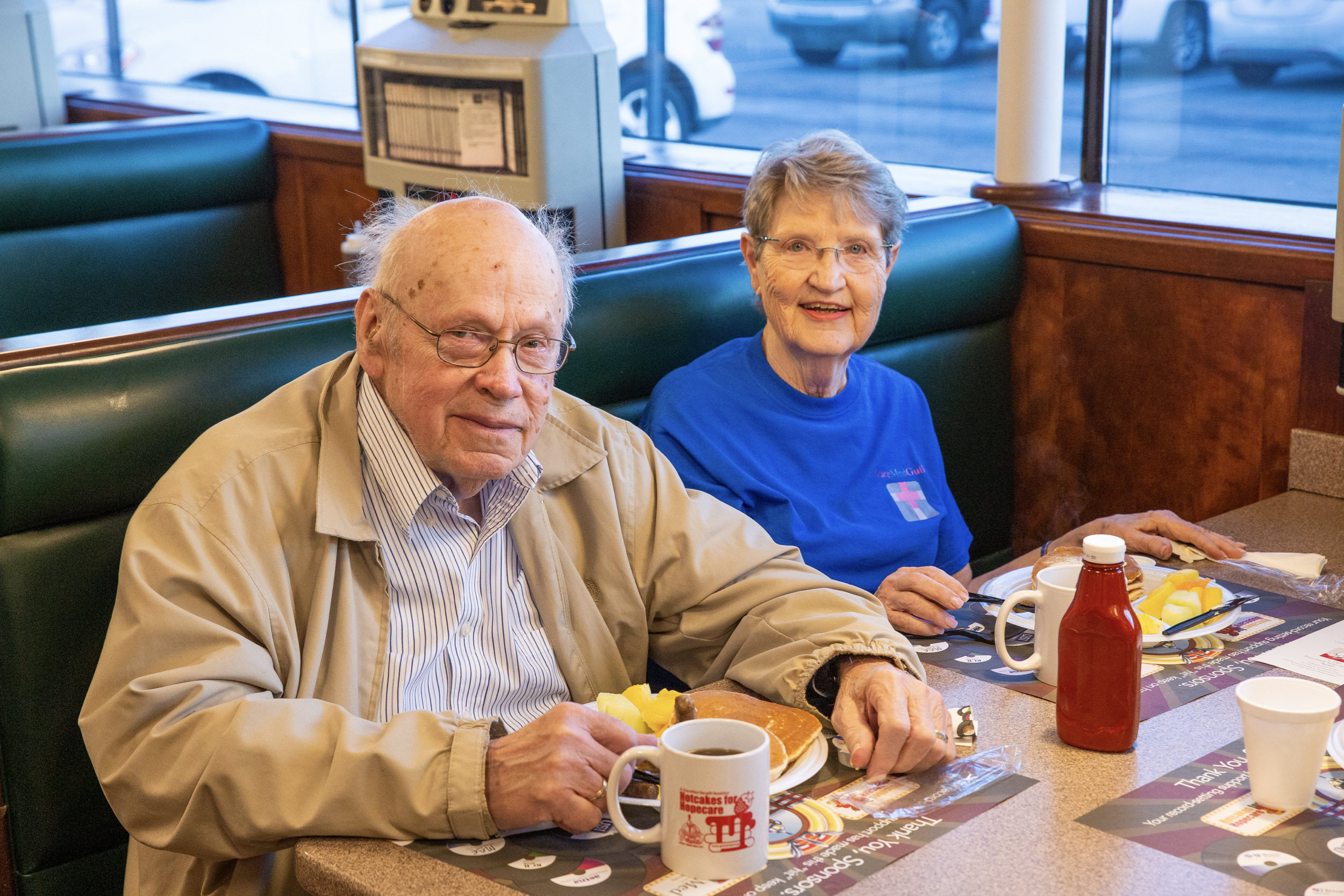 Bob and Sue McAllister