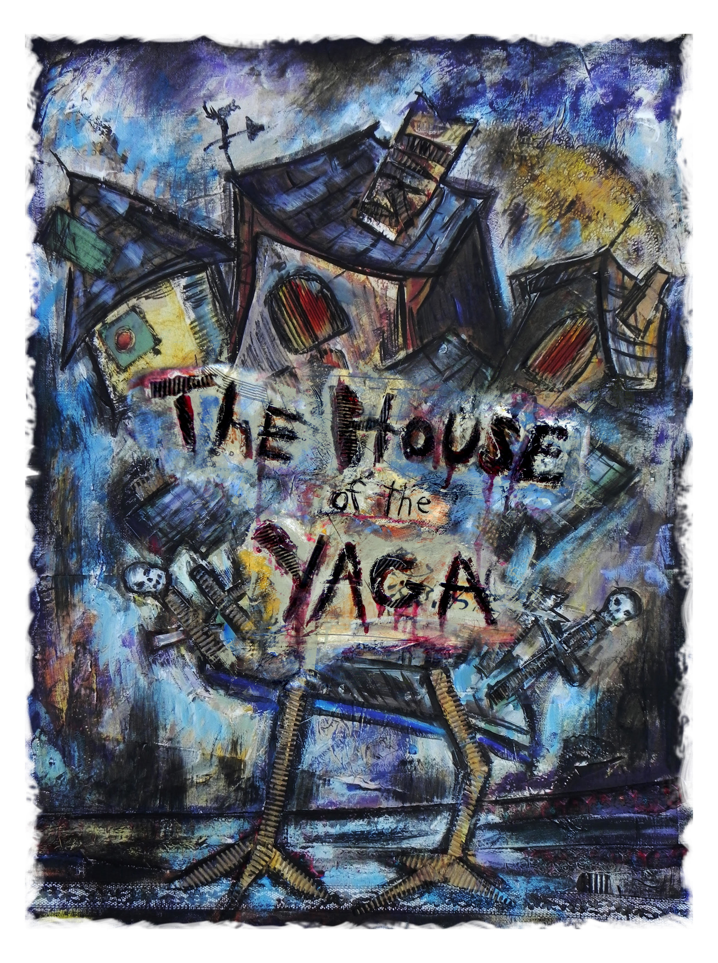 The Baba Yaga is terrorizing your village, can you destroy her before she destroys you?