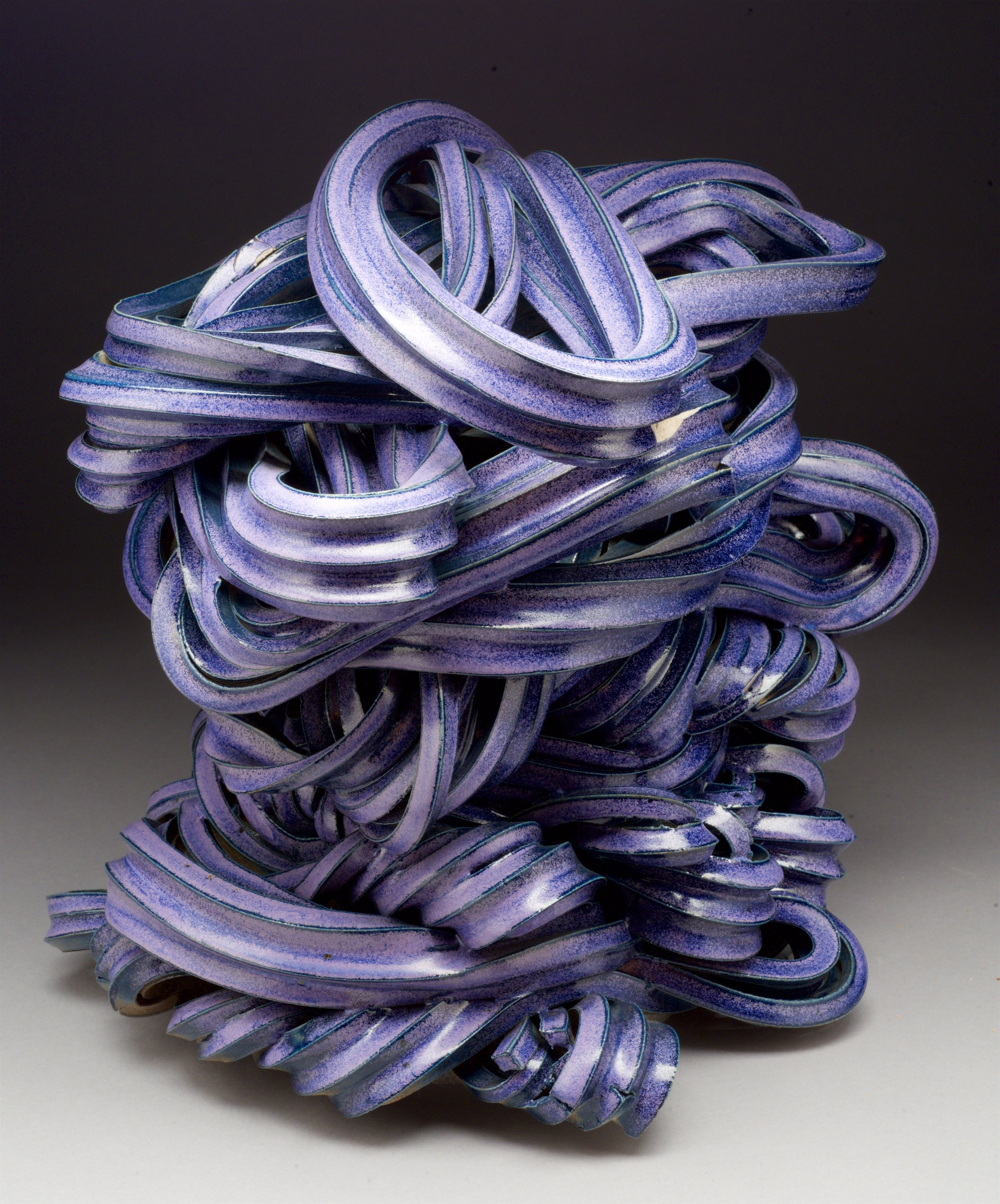 """""""Spaghetti"""" series: Extruded clay"""