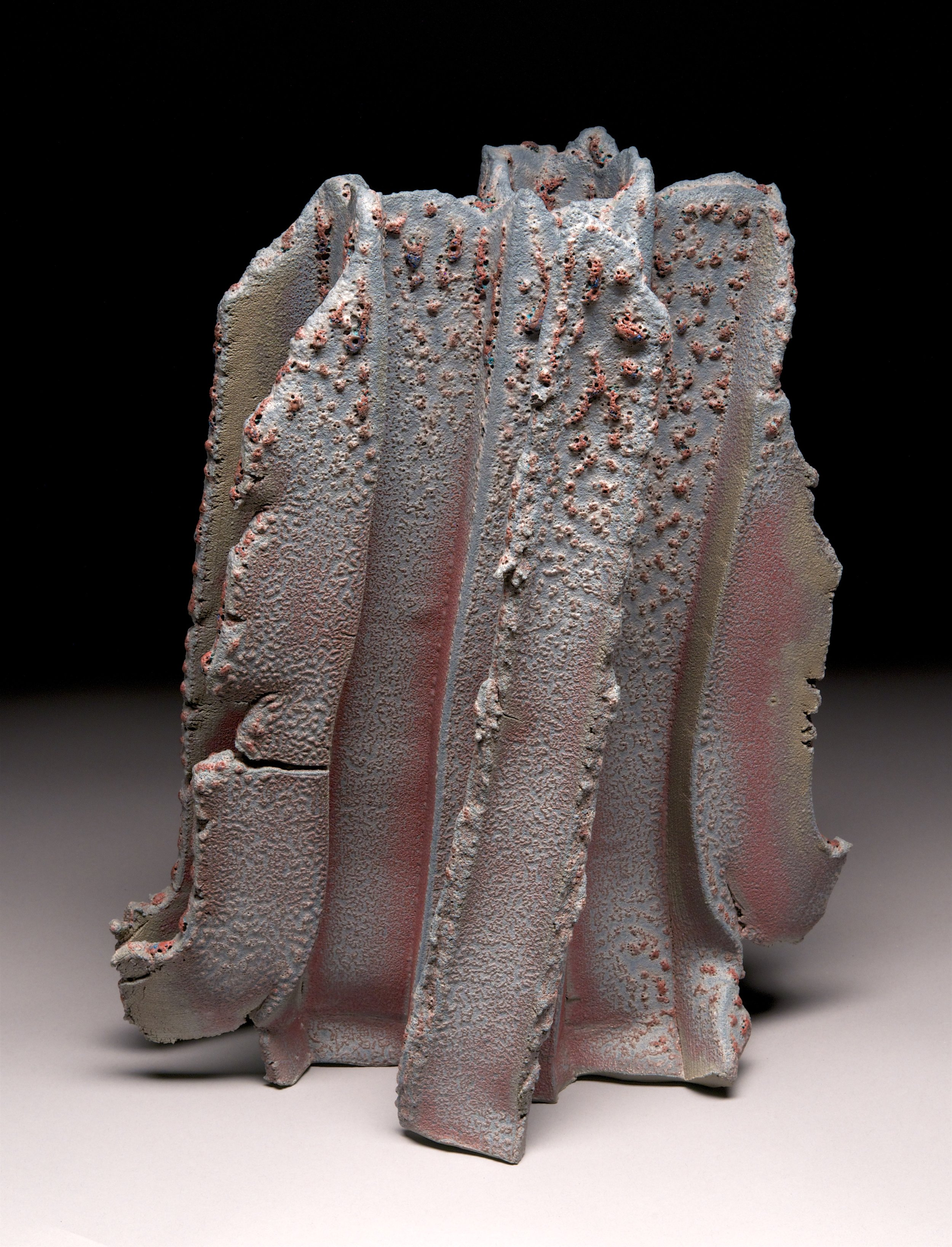 """""""Basalt"""" series: Extruded clay"""
