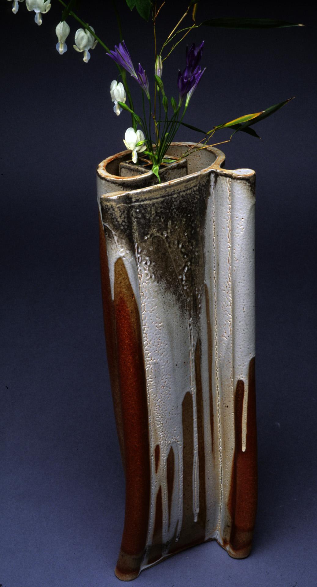 Vase (Ikebana)   15%22h.x 6%22w.x 5%22d.jpg