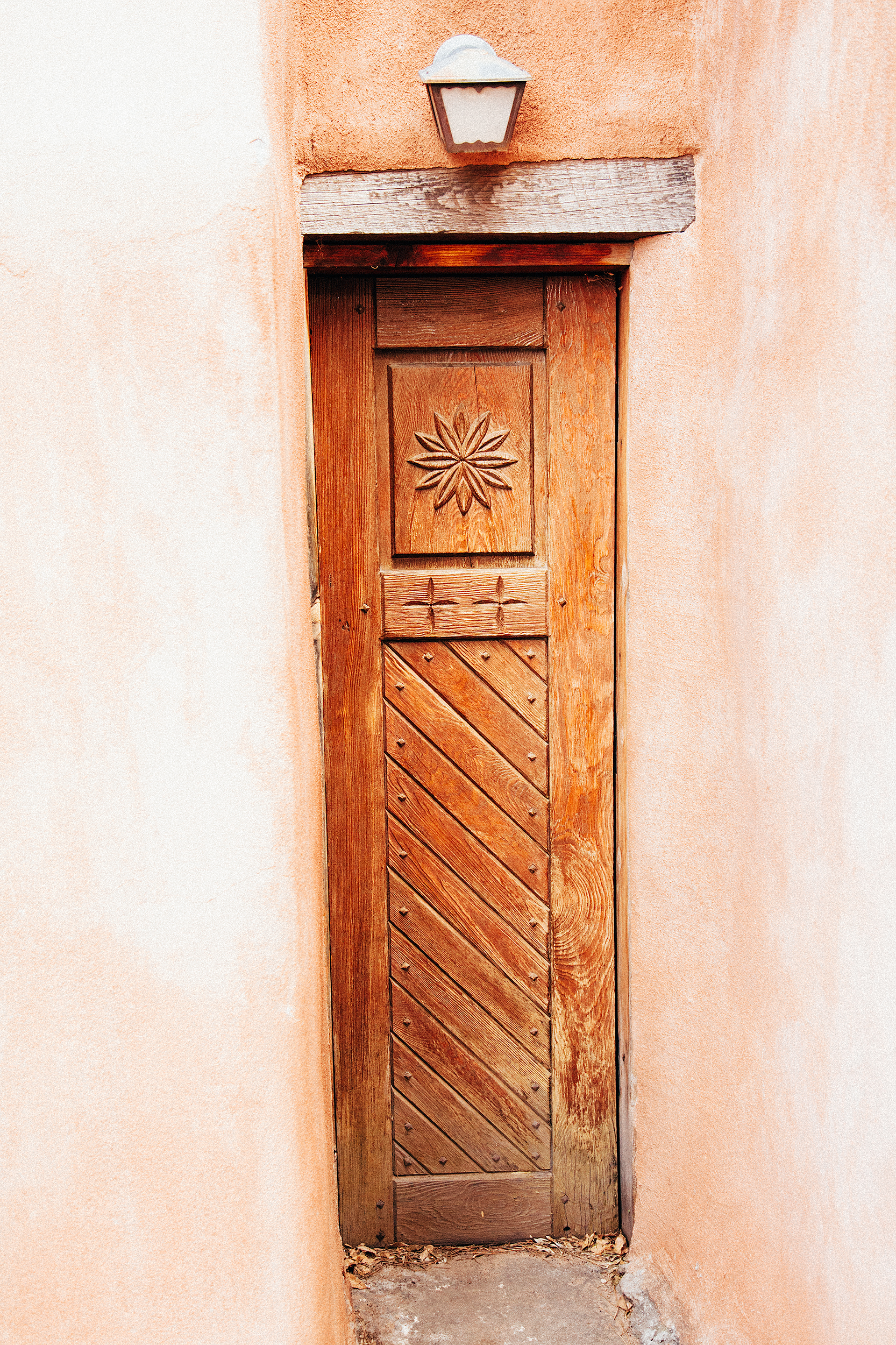 Door detail, Old Town Albuquerque