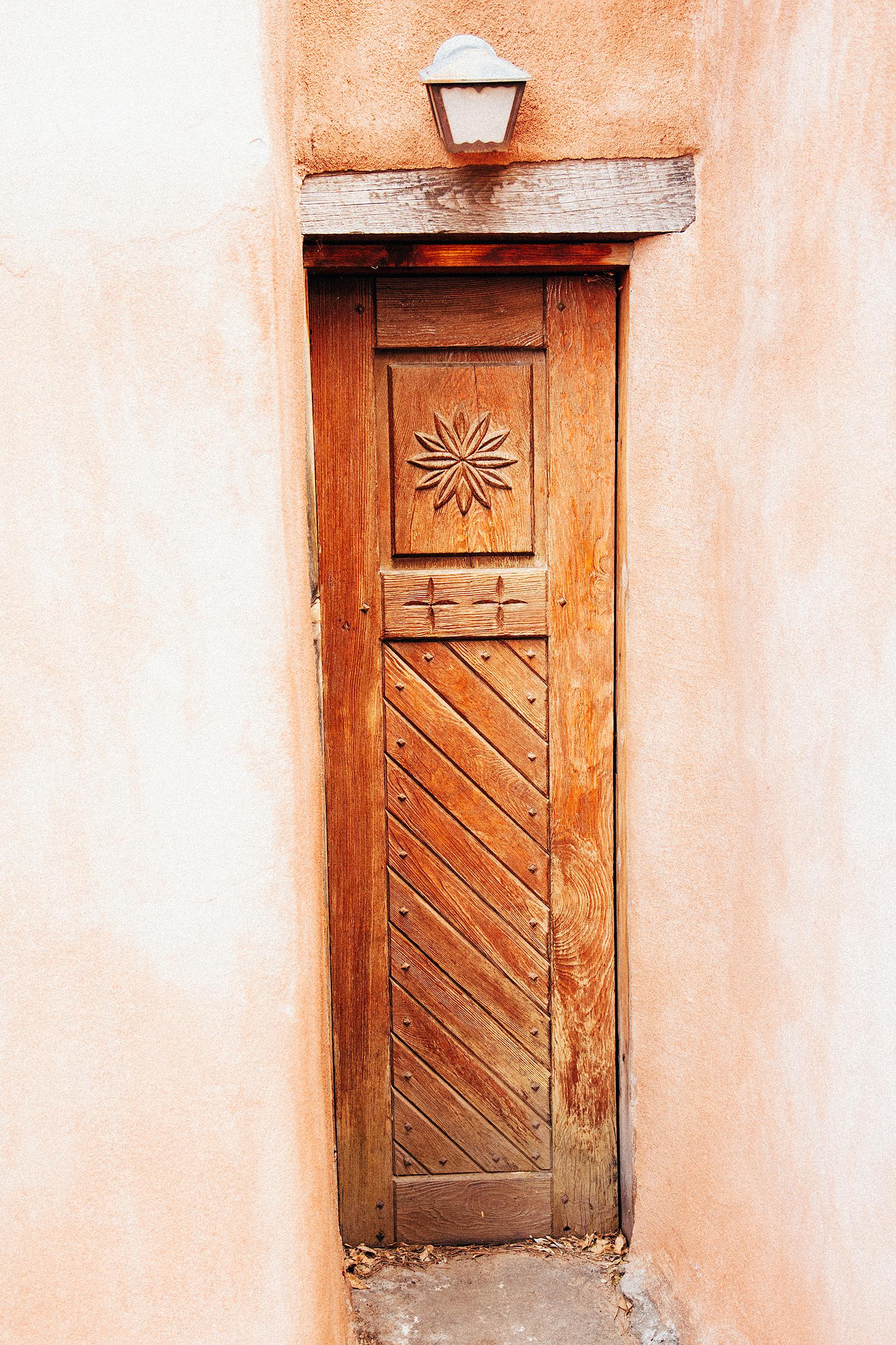 Door detail, Old Town Albuquerque