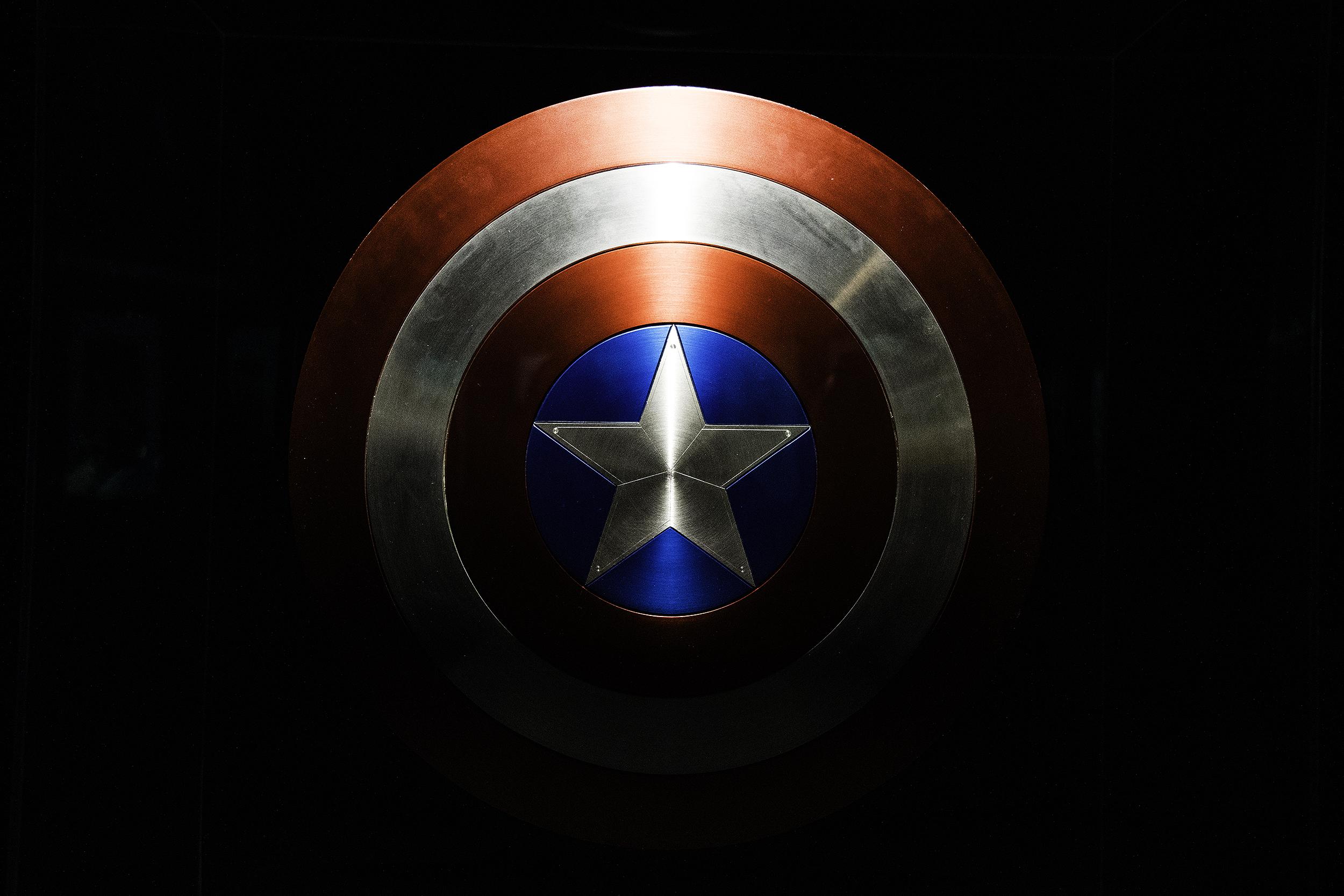 Cap's Vibranium Shield