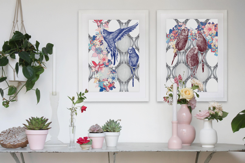 KBIRDY-fine_art_prints-budgerigars