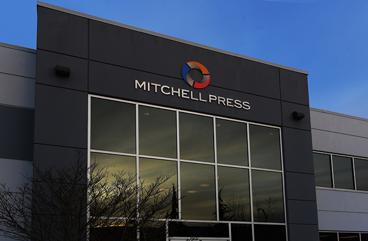 Mitchell Press headquarters.