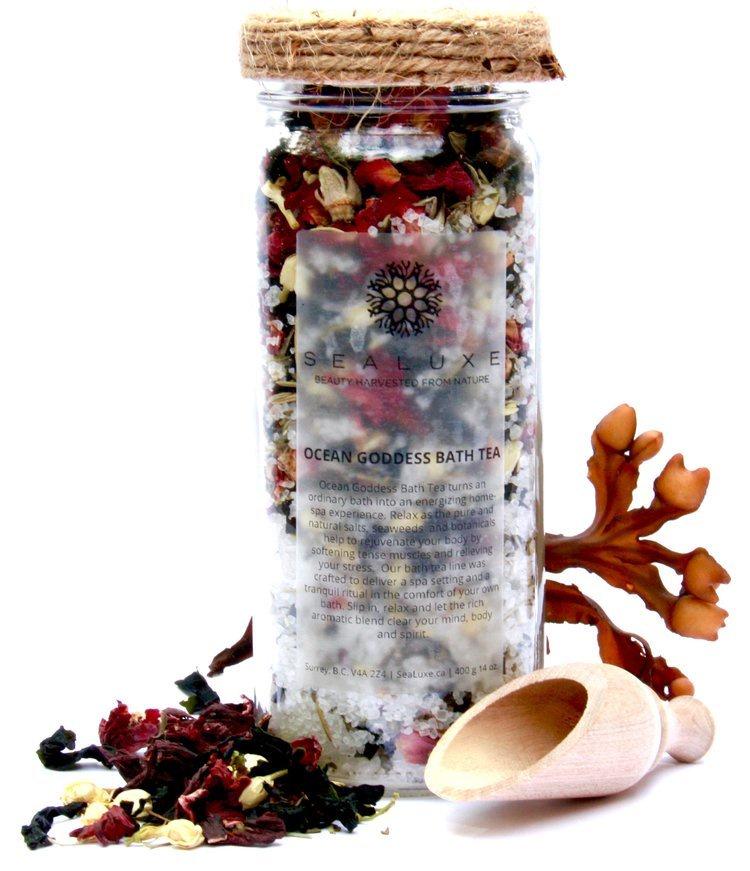 Our popular Ocean Goddess Bath Tea is up for an award!