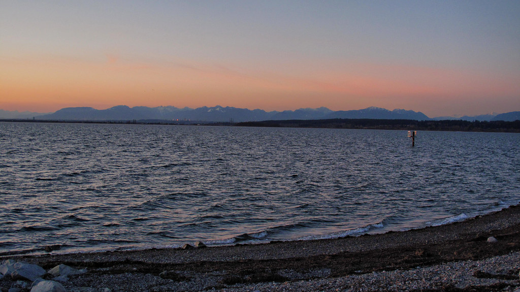 Crescent Beach at dusk. Photo: Kyle Pierce