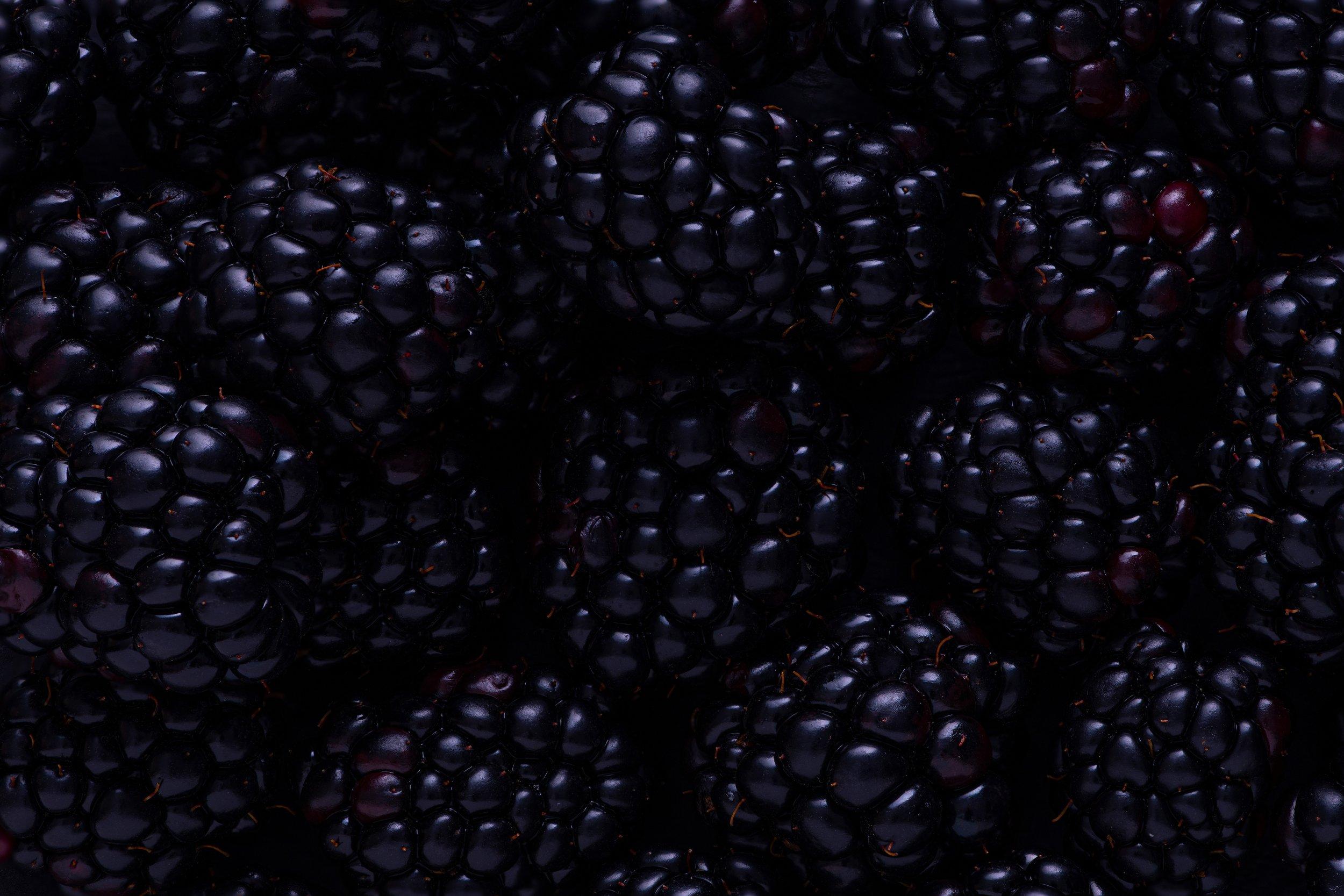 Mmmmmm delicious blackberries.