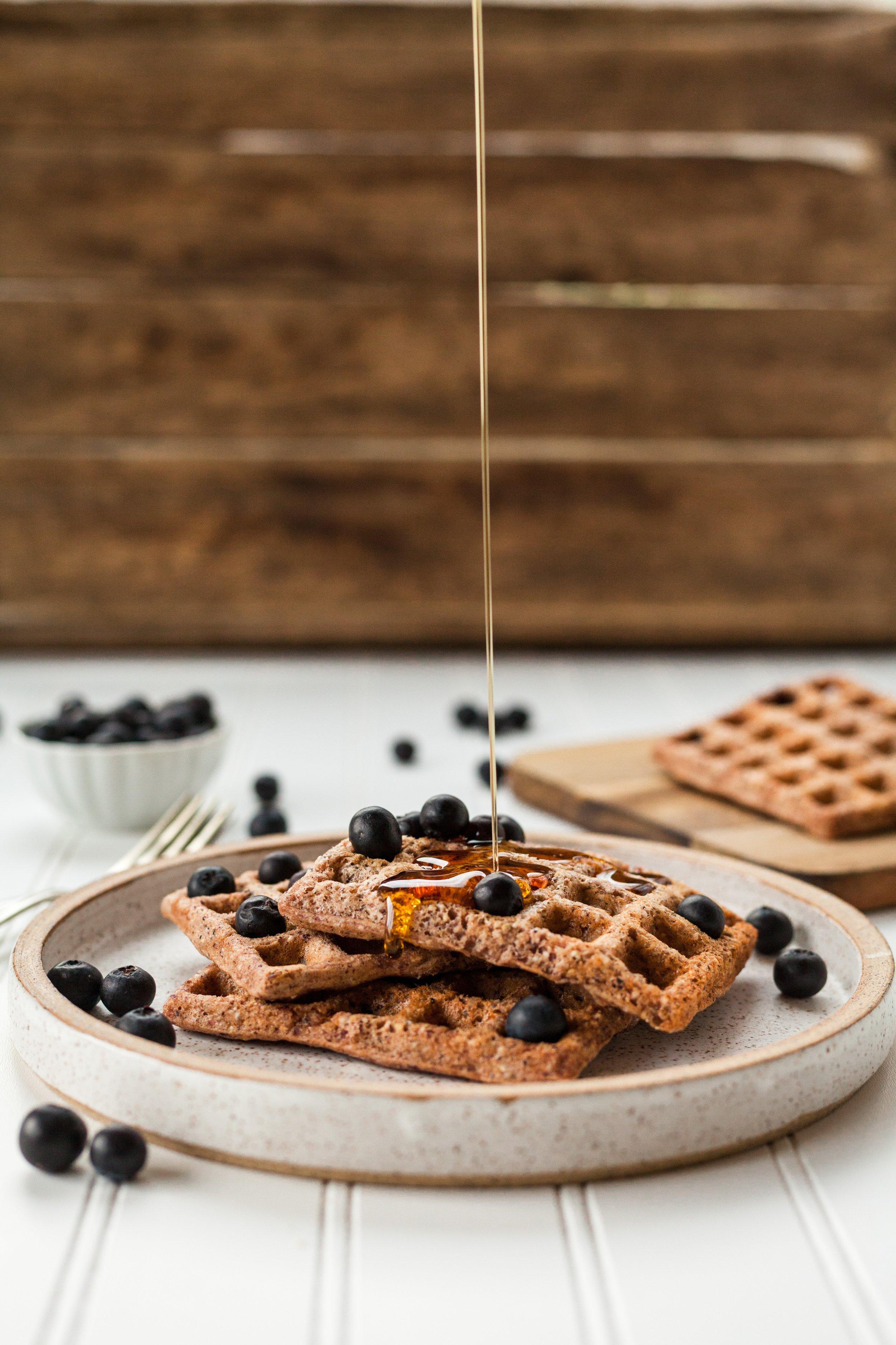 How I love waffles…