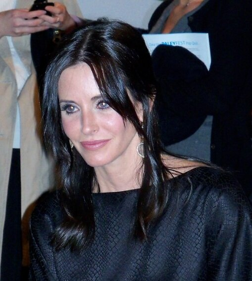 Courteney Cox. Photo via Current Events/Flickr