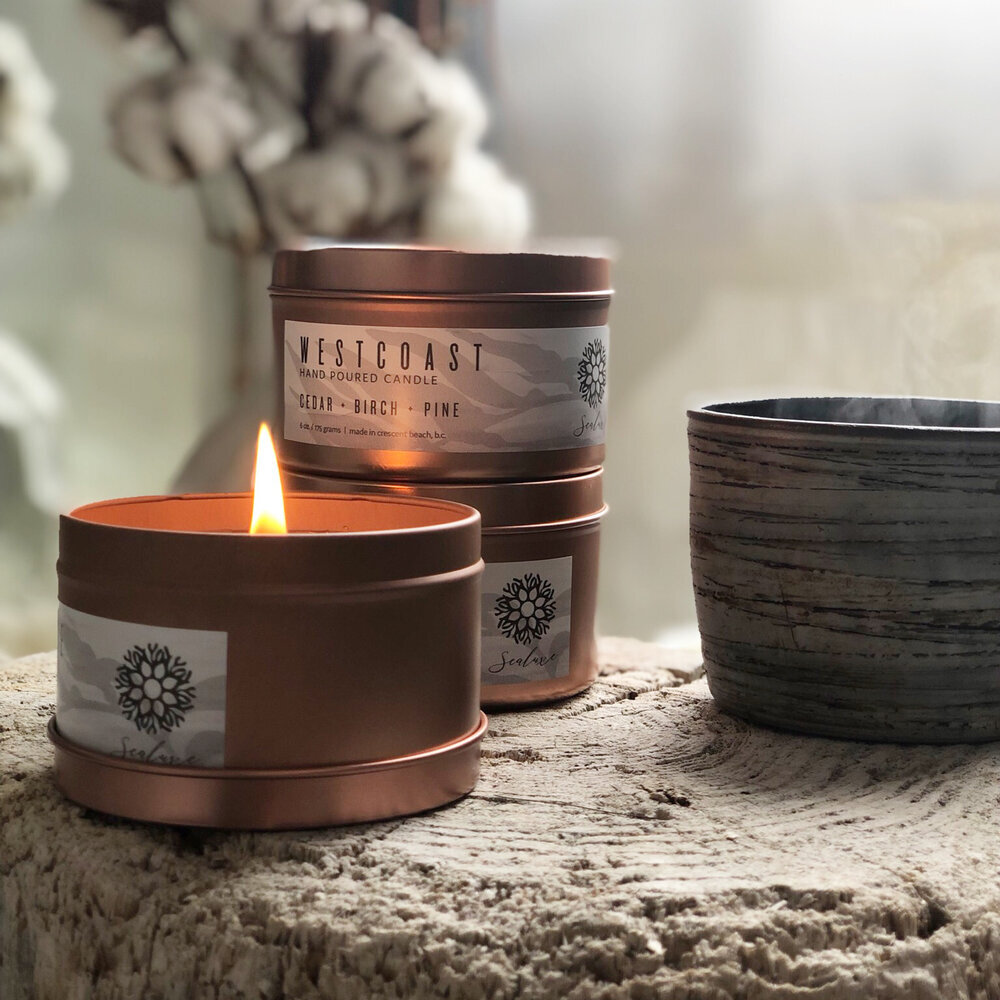 Candles have a wonderful way of setting a relaxing tone.