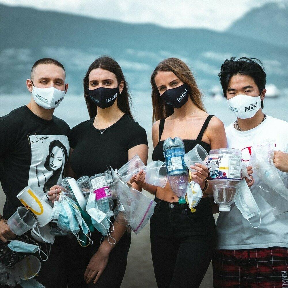 Reilwardrobe.com and their sustainable masks.