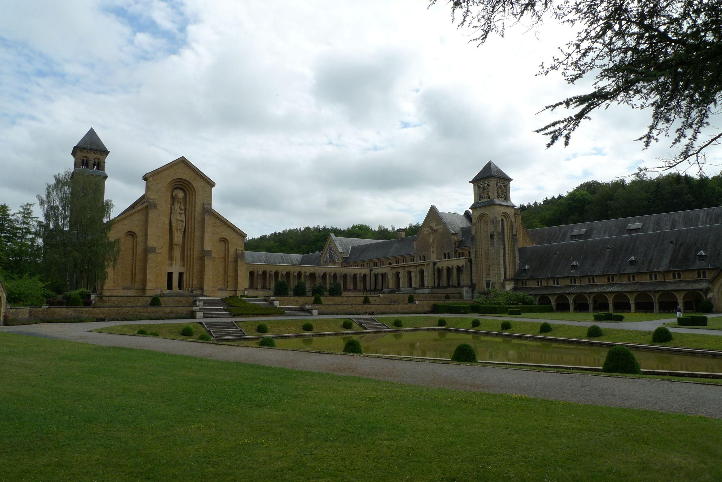Manastırın yıkımlardan sonra modernize edilmiş cephesi