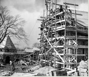 Manastır inşaatı