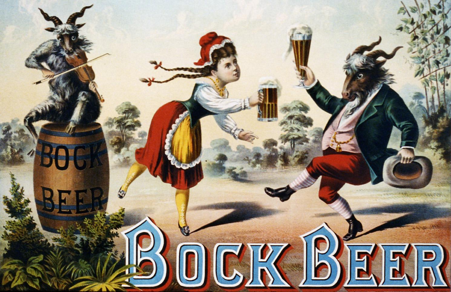Bock Beer Advertising