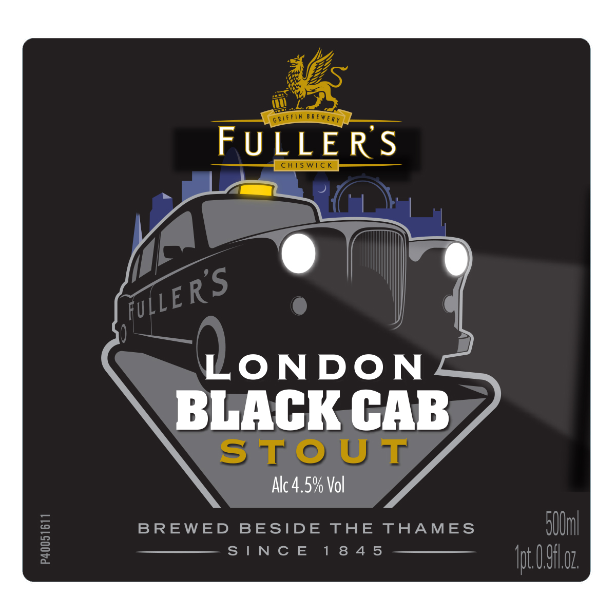 LONDON Black Cab Stout