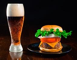 Koyu bira ve kızartma