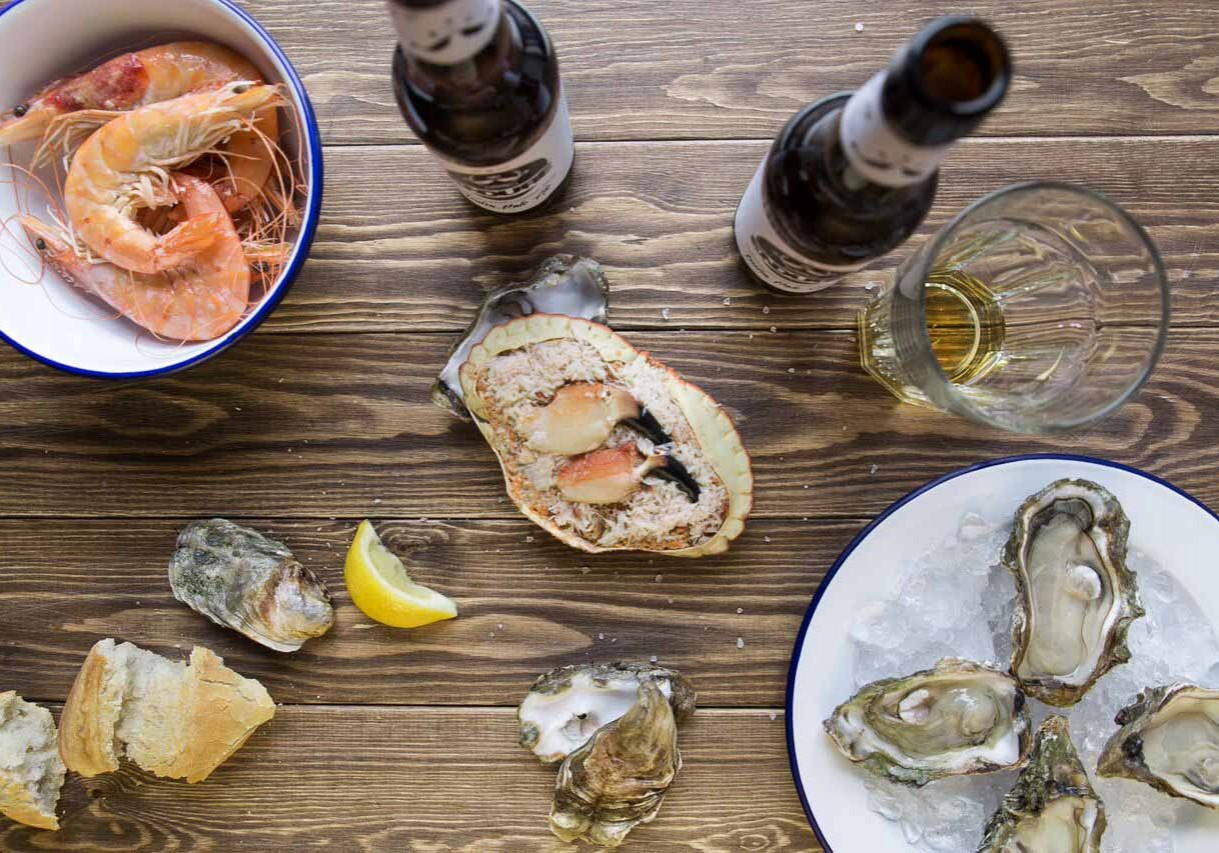Beer and seafood pairing