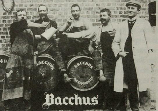 İlk tutan biraları Bacchus