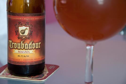 Ödüllü biraları Troubadour Magma bir kişiye neşe ve mutluluk getirirken...