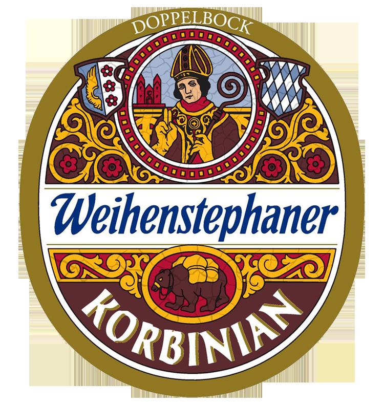 Altta evcilleşen bahtsız yük ayısı, üstte de Aziz Korbinian'ın ta kendisi. Kurucu kişi daha iyi onurlandırılamazdı