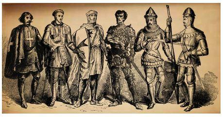 Şövalyelikten keşişliğe, savaşlardan, tanrıya hizmete...