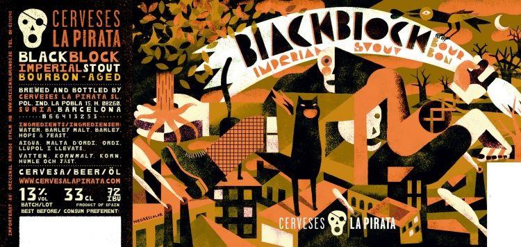 En sevdiğim biraları Black Block Imperial Stout. Bunun Brandy fıçılarında, Burbon fıçılarında ve Tekila fıçılarında beklemiş 3 farklı versiyonu var