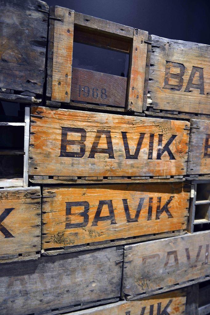 Vintage Bavik odun fıçıları