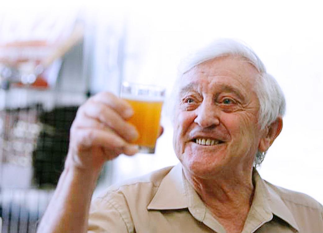 Pierre Celis ve gözlerindeki ışıltı...Ya da damarlarındaki alkol mu demek daha doğru?