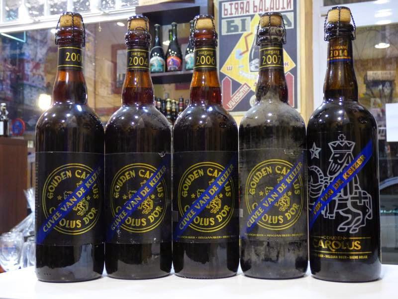 Saklandıkça kıymetlenen bira yapmışlar yine. Eski versiyonları 40-50€ arasından başlıyor. Biramayası bizzat kendini kurban ederek deneymilemiş, 2007 modelini satın alarak Beçika'dan