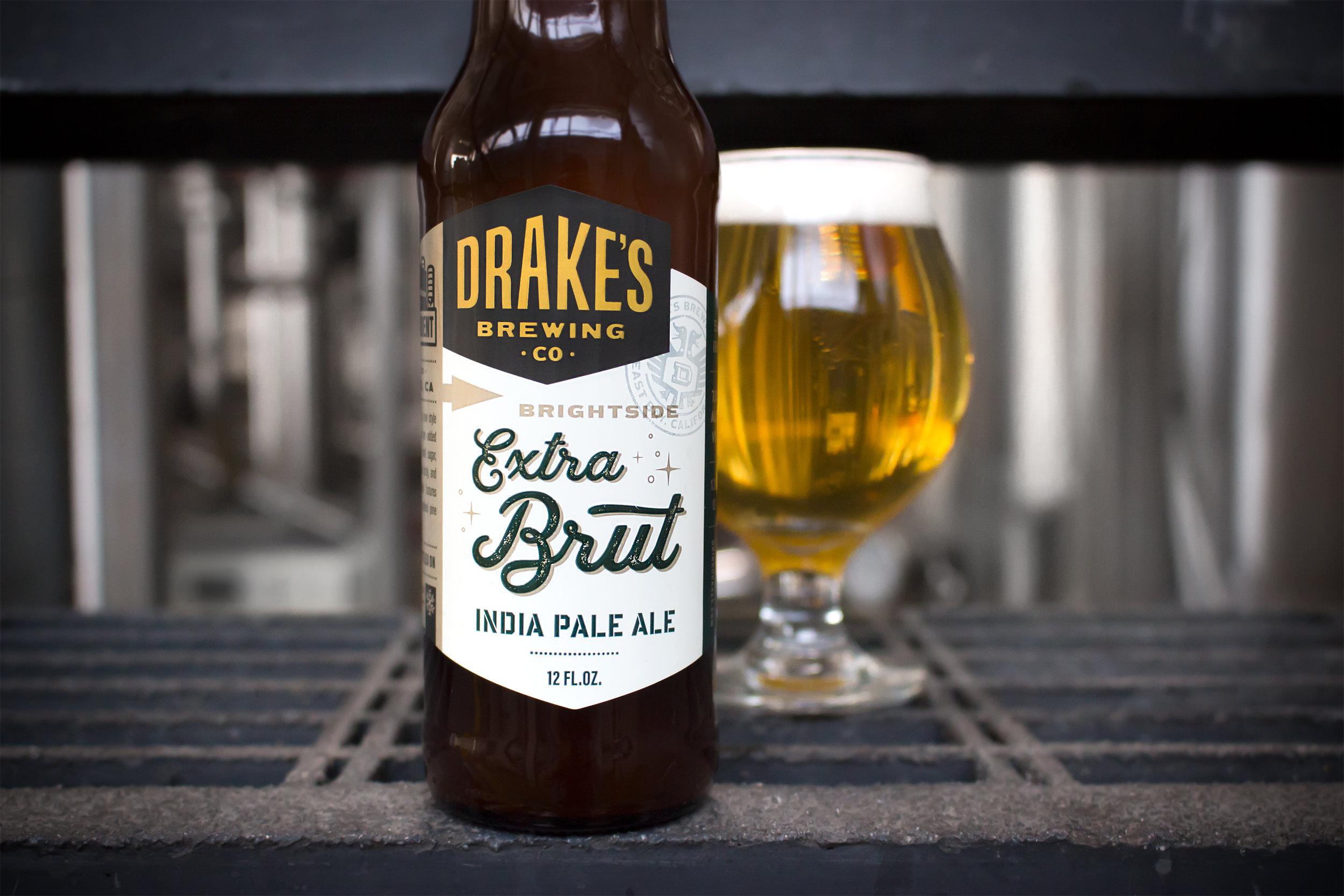İlk Brut IPA: Drake's Extra BRUT