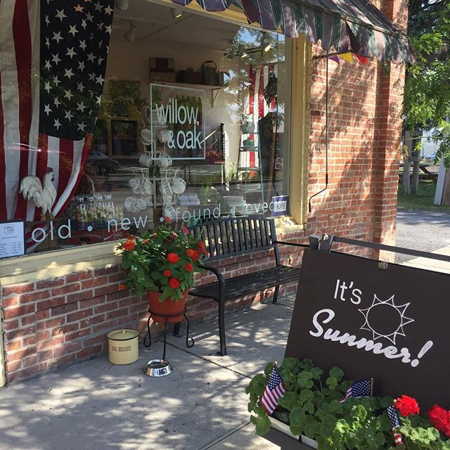Happy Summer! Come sit in the shade with us. #chathamny #shopsmall #mainstreet #hudsonvalley #summer #solstice