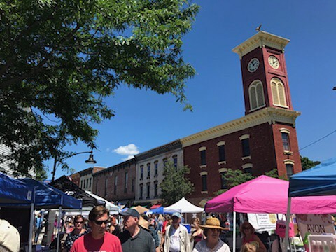 Beautiful day for summer fest! Come on down to Chatham! #mainstreet #chathamny #summerfest