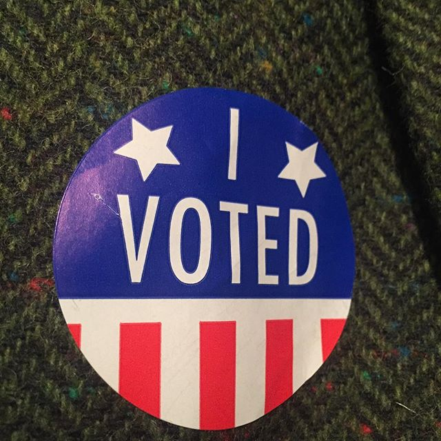 Every Vote counts #ivoted #vote #chathamny