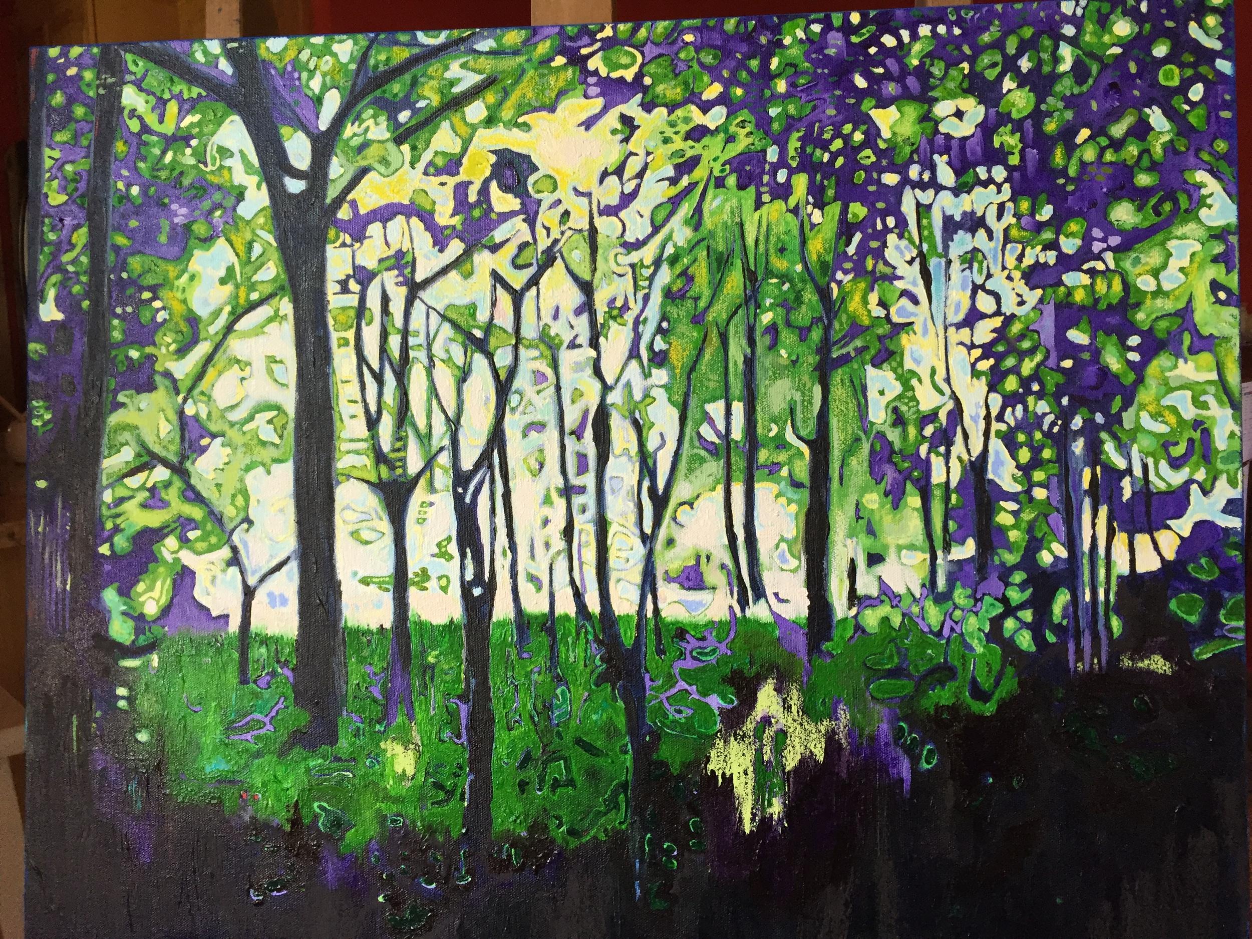 22x18 acrylic on canvas