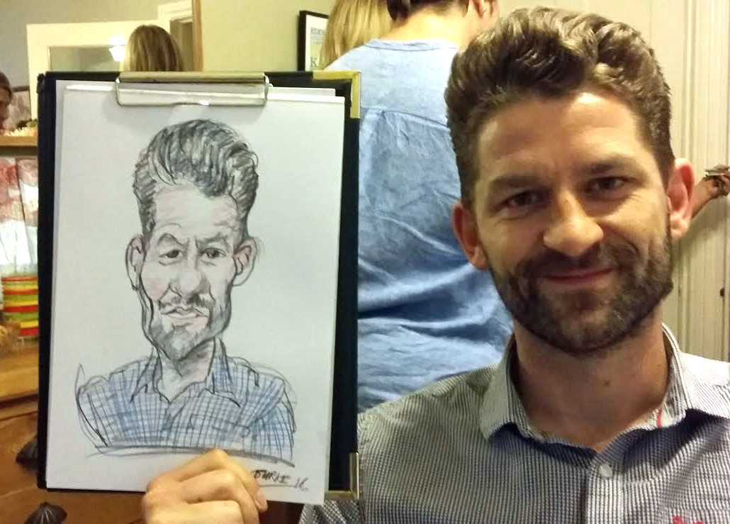 Speed drawing Instant caricature less than 5 mins