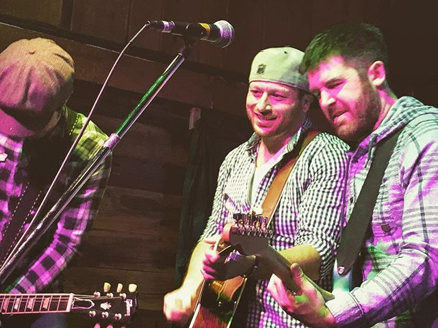 Just three dudes playing some guitars. 🎸 Had a BLAST ringing in 2018 last night!