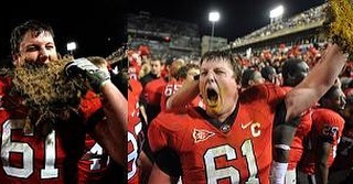 "One of my all time favorites @coreysmithmusic said ""Every Dawg Has His Day"" I hope for Corey, @jones60ben and the rest of the @ugaathletics fans that today is their day! Chew them up and spit them out! #GoDawgs"