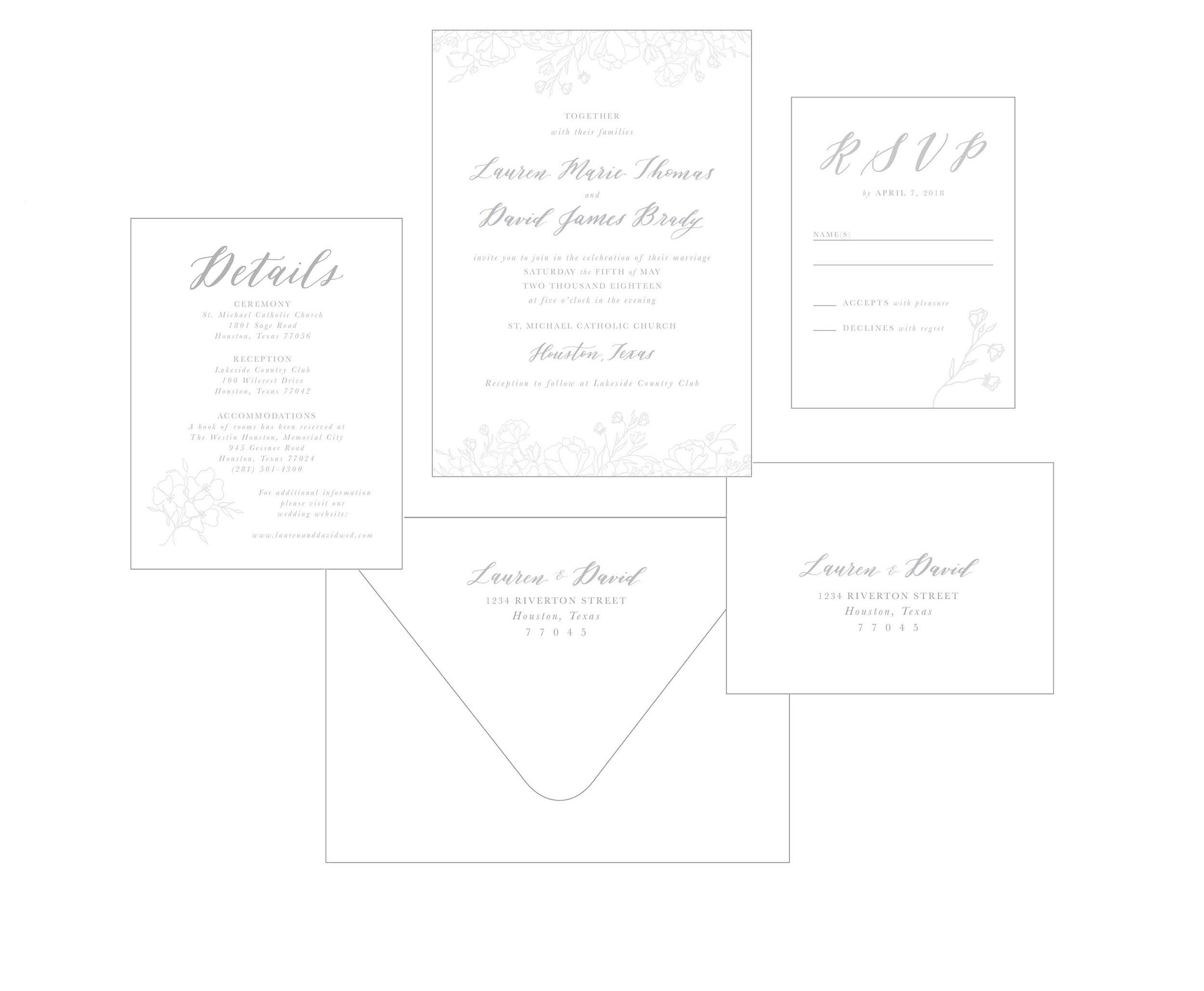 Delicate Florals_Semi-Custom Calligraphy Invitations_Dreams and Nostalgia.jpg
