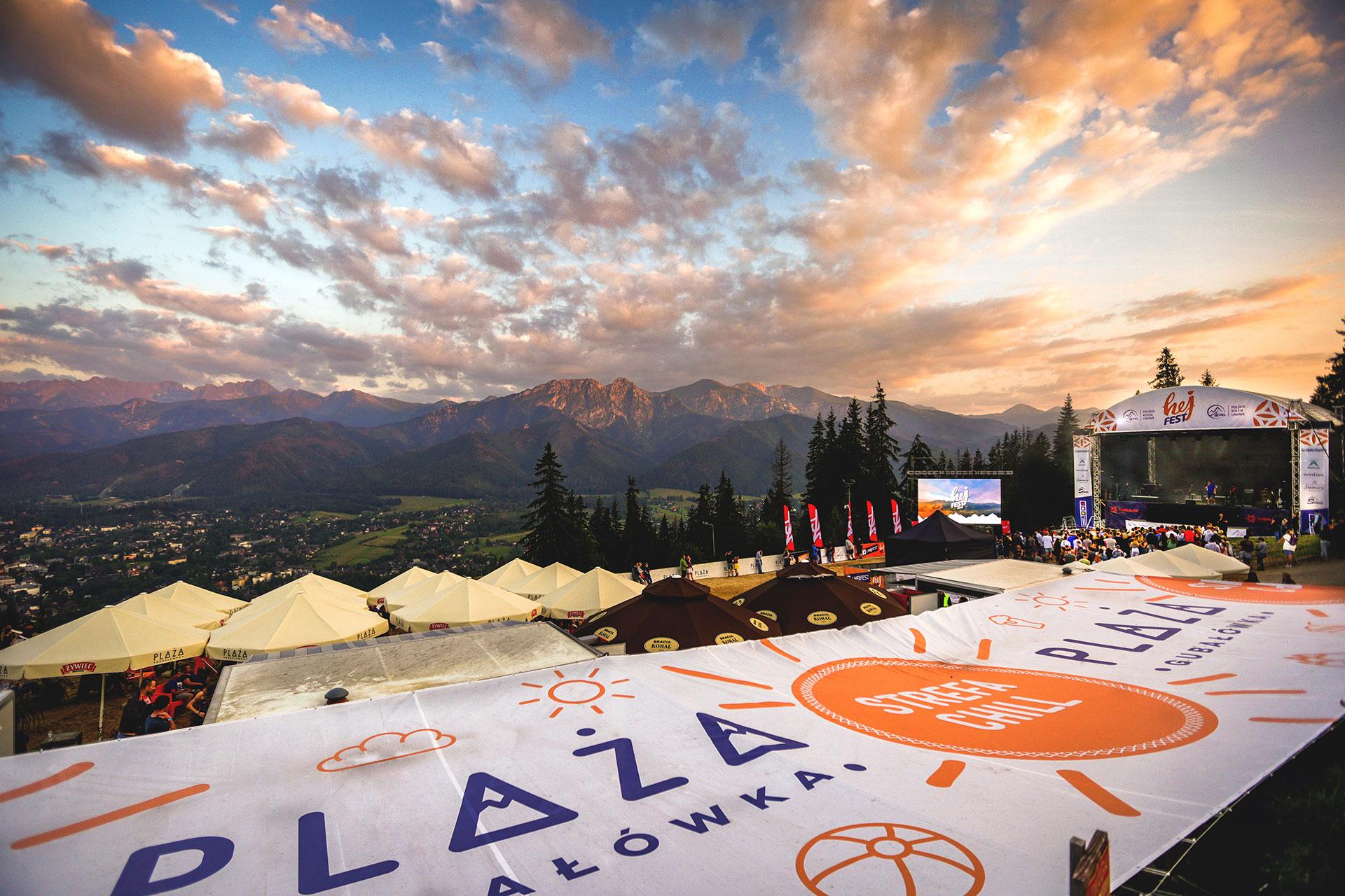 Hej Fest 2018 - Muzyka z widokiem na Tatry