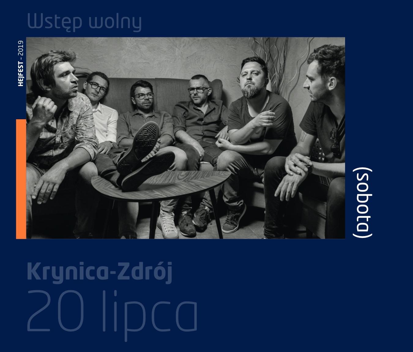 Happysad - Krynica ZdrójDeptak Główny (obok Pijalni)- 19:00 – Otwarcie festiwalu i support: VHS- 20:00 – HappysadDołącz do wydarzenia